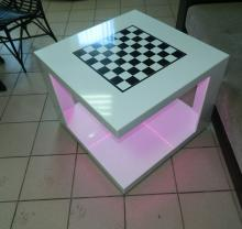 Журнальный столик Шахматы  станет украшением вашего дизайна